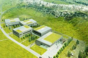 Europejskie Centrum Edukacji Geologicznej w Chęcinach ma spełniać nie tylko praktyczne funkcje. Budynek powstający w obrębie rezerwatu wkomponuje się w istniejącą przyrodę. Oprócz murawy na dachach posadzone zostaną rośliny podobne do tych, które rosną w okolicach kamieniołomu. Projekt pracowni WXCA