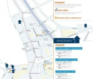 Mapa akademików
