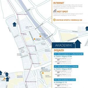 W 6 domach studenkcih UW może mieszkać 2,5 osób. Uniwersytet planuje budowę 2 kolejnych akademików.