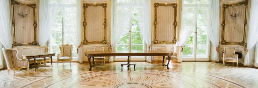 Sala Złota jest jedną z najokazalszych sal w Pałacu Kazimierzowskim. Obejmuje dwie kondygnacje, a jej wystrój skomponowany jest z późnobarokowych elementów. Odbywają się tu najważniejsze uroczystości uniwersyteckie, fot. M. Kaźmierczak.