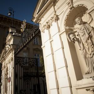 Brama zwieńczona orłem stała się symbolem Uniwersytetu. Fot. M. Kaźmierczak