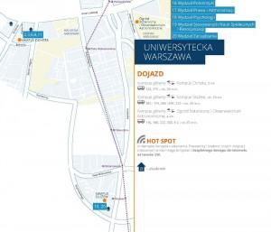 Uniwersytet na terenie Warszawy