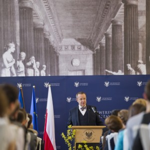 Prezydent Estonii na UW - marzec