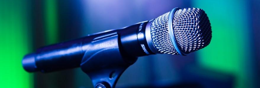 Mikrofon, fot. M. Kaźmierczak