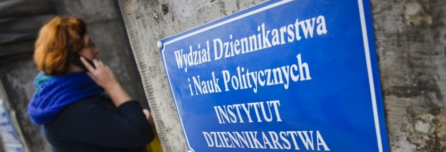 Wydział Dziennikarstwa i Nauk Politycznych, fot. M. Kaźmierczak