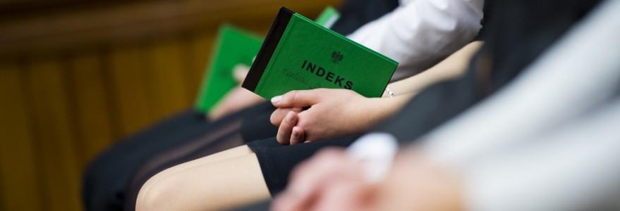 Inauguracja, indeks