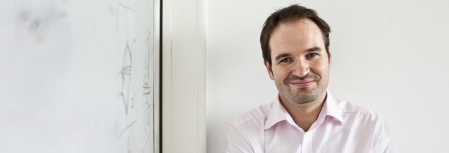 prof. Stefan Dziembowski, fot. J. Grabek