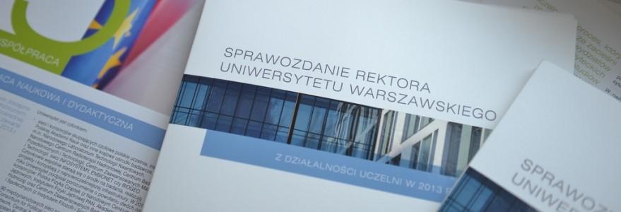 Okładka sprawozdania 2013
