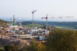 Budowa Europejskiego Centrum Edukacji Geologicznej  trwa.
