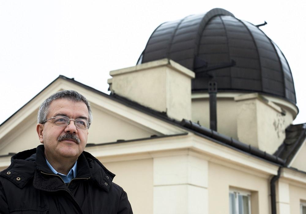 Zdjęcie prof. Andrzeja Udalskiego