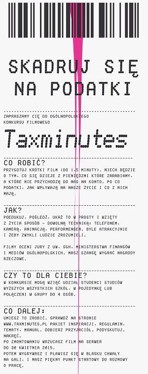 Taxminutes-plakat