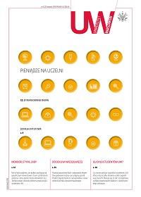Okładka pisma uczelni, numer 72-2, 2015