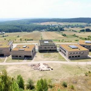 Europejskie Centrum Edukacji Geologicznej w Chęcinach powstało w miejscu nieczynnego kamieniołomu na Górze Rzepka, gdzie utworzono rezerwat przyrody. Fot. M. Kaźmierczak