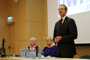 lach Prorektor Anna Giza, Prof Dorota Urbanek, Rektor Marcin Palys