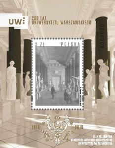 200 lat UW znaczek