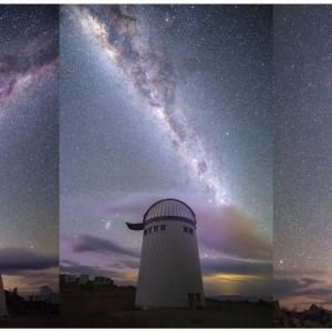 Fot. J. Skowron, Obserwatorium Astronomiczne UW. Droga Mleczna to główny cel obserwacji realizowanego w Chile projektu OGLE, kierowanego przez prof. Andrzeja Udalskiego z Obserwatorium Astronomicznego UW. Każdej pogodnej nocy teleskop monitoruje zmiany jasności ponad miliarda gwiazd w poszukiwaniu nieoczekiwanych zjawisk i obiektów, jak np. wybuchy gwiazd nowych. Warszawscy astronomowie odkryli więcej gwiazd zmiennych niż wszystkie inne projekty obserwacyjne w dziejach astronomii.