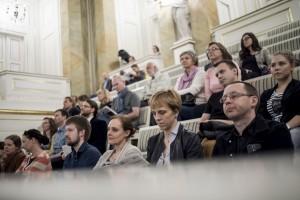 Wernisaż wystawy fotografii naukowej w Teatrze Królewskim w ŁAzienkach