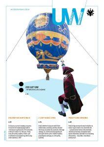 Okładka pisma uczelni, numer 78-3, 2016