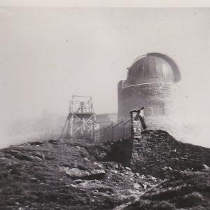 Widok na obserwatorium, 1938 rok