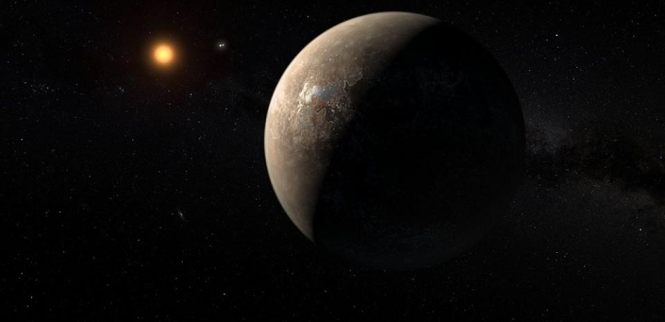 Planeta Proximy Centauri