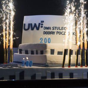 Tort urodzinowy UW.