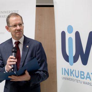Prof. Marcin Pałys, rektor UW