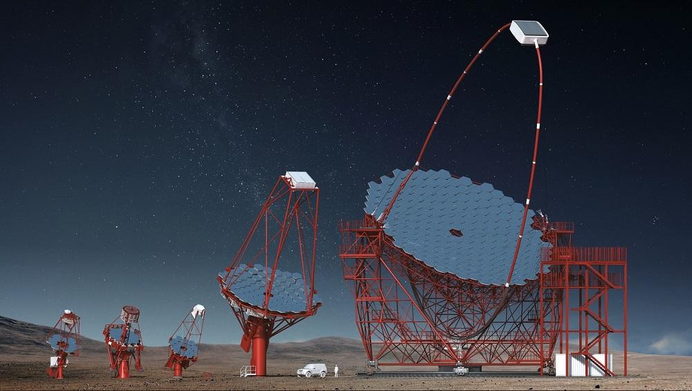 Wizualizacja Cherenkov Telescope Array