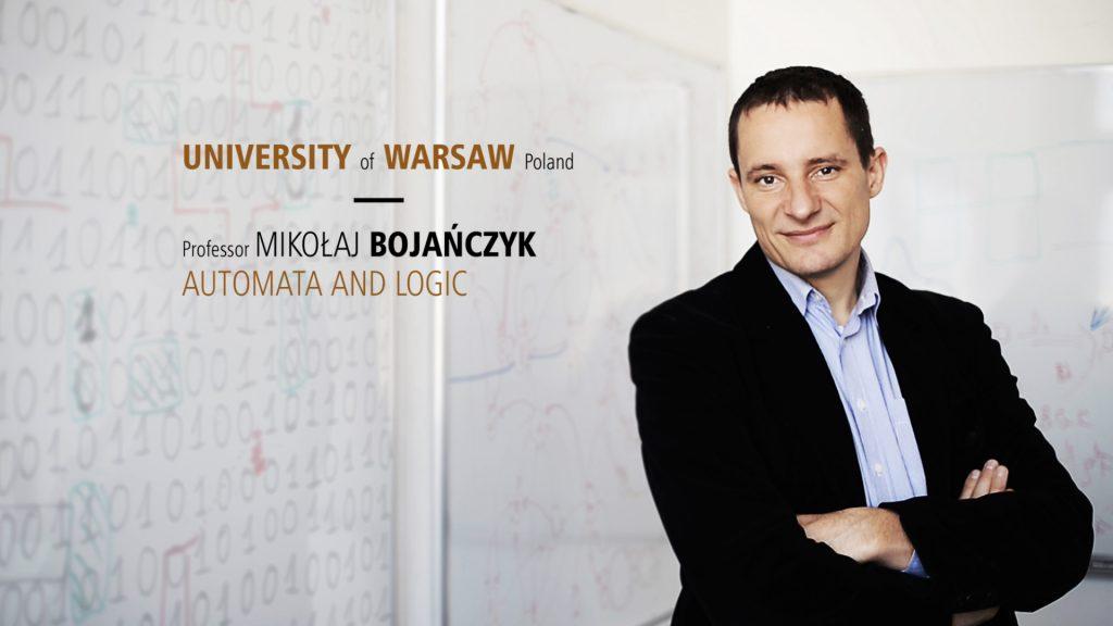 Film o prof. M. Bojańczyku (otwiera się w nowym oknie)