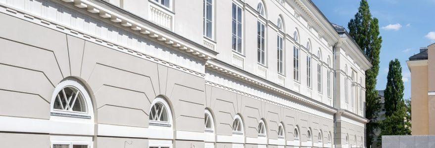 Odrestaurowany Gmach Audytoryjny.