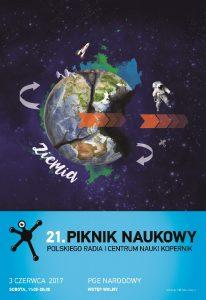 Piknik Naukowy 2017 - plakat