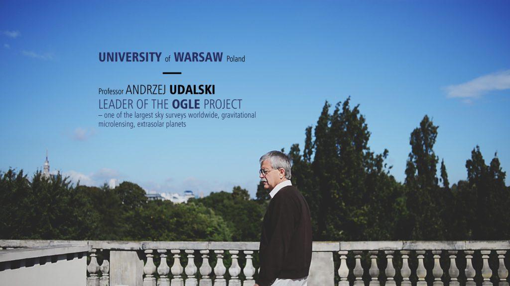 Film o prof. Andrzeju Udalskim (otwiera się w nowym oknie)