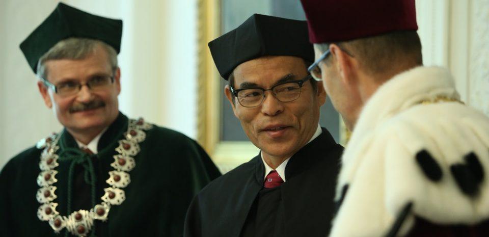 Doktor honorowy prof. Shuji Nakamura