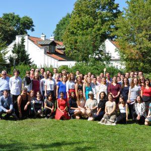 Uczestnicy wakacyjnego kursu języka polskiego