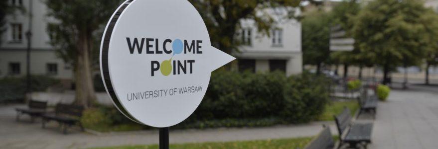 Otwarcie Welcome Point UW, 15 września 2017