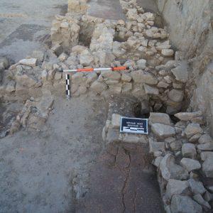 Podłogi odkryte w czasie wykopalisk w Novae. Fot. M. Lemke.