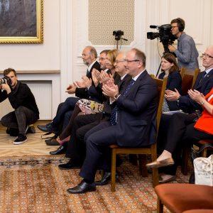 Uroczystość odbyła się w Pałacu Kazimierzowskim.