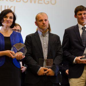 Laureaci nagrody NCN. Fot. Michał Niewdana, NCN.