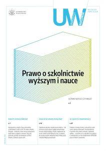 Okładka pisma uczelni, numer 83-4, 2017