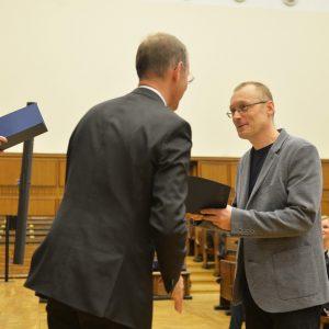 prof. Sławomir Lasota z Wydziału Matematyki, Informatyki i Mechaniki.