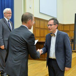 Bogdan Zagajewski z Wydziału Geografii i Studiów Regionalnych