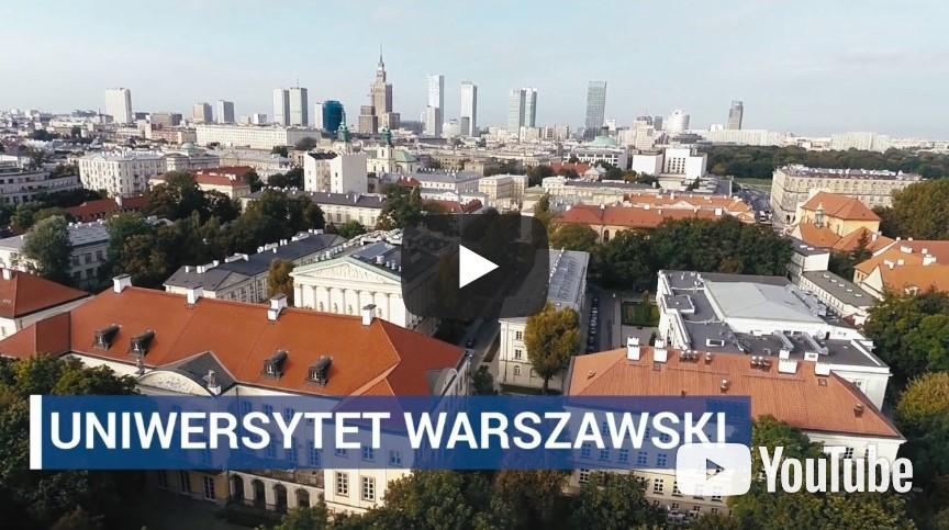Materiały filmowe o Uniwersytecie Warszawskim
