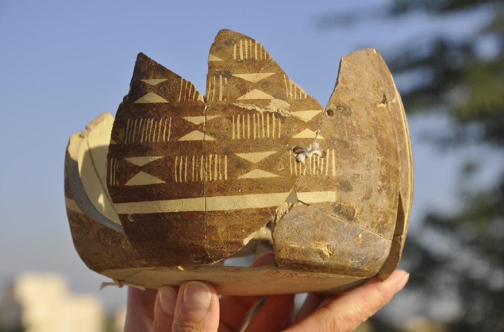 Naczynie z okresu Ubaid z Bahra 1. Fot. A. Reiche