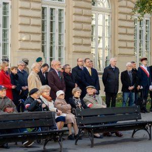 Uczestnicy obchodów stulecia powołania Legii Akademickiej