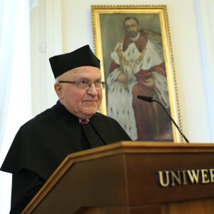 Uroczystość nadania tytułu doktora honorowego prof. Januszowi Jurczakowi