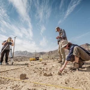 Prace misji Centrum Archeologii Śródziemnomorskiej UW w Dolinie Qumayrah (Oman), fot. Adam Oleksiak/CAŚ UW