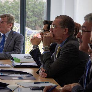 Spotkanie z dyplomatami w CNBCh UW. Fot. dr Joanna Gocłowska-Bolek