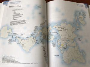 """Fragmenty """"Geograficzno-politycznego atlasu Polski"""""""