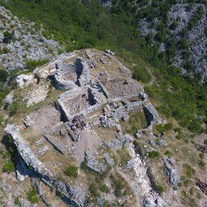 Odkrycia archeologów w Risan. Fot. M. Lemke