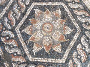 Rzymska mozaika odkryta w Aleksandrii. Fot. R. Kucharczyk, CAŚ UW.