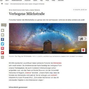 Niemcy, Der Tagesspiegel: https://www.tagesspiegel.de/wissen/eine-dreidimensionale-karte-unserer-galaxie-verbogene-milchstrasse/24861868.html